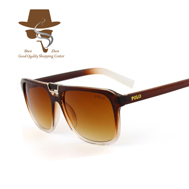 ec1dc41070 2015 New Classic America Brand Square Sunglasses Men Polo Ralph Women  Glasses lunette de soleil homme oculos masculino With Box
