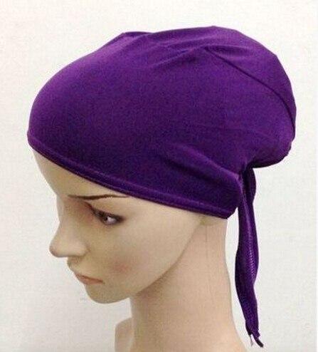 Шарф, внутренняя шапка, хиджаб кепка. Смешанные цвета быстрая, 20 штук 1 лот