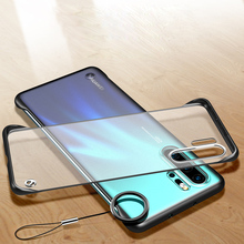 Slim Strap Cover for Huawei P20 P30 Pro Case Hard PC Smooth Shockproof Mate 20 Nova 3 i Honor