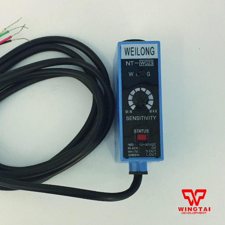 WEILONG Color Code Sensor NT-WG23 (White & Green Light Source) Bag Making Machine Photoelectric Switch Sensor Replace NT-WG23  цены