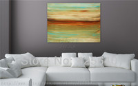 Wind Acrylic Paint Home Decoration Oil Painting on canvas hight Quality Hand painted Wall Art 24X48 inch ,36X72 inch