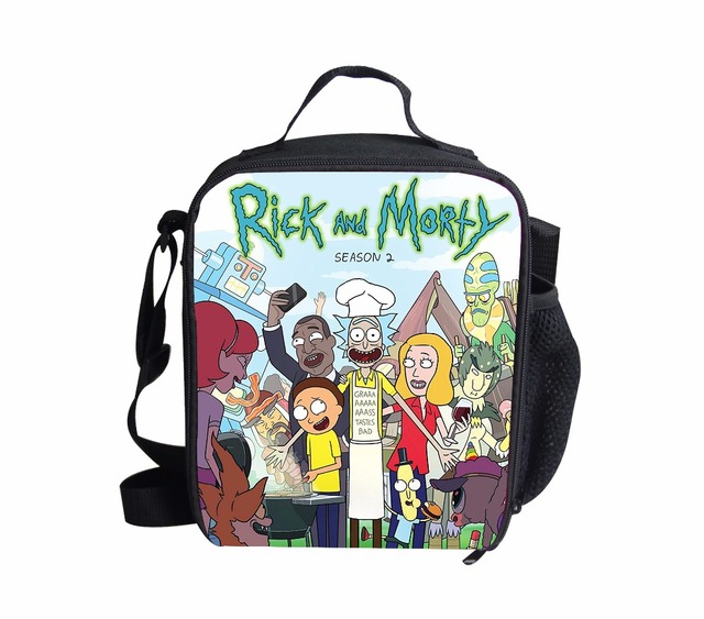 7ac2aeceec FORUDESIGNS Rick And Morty Lunch Bag For Children