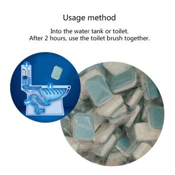 Multifunctional Cleaning Tablet Blue Neutral pH Effervescent Toilet Cleaner Glass Household Cleaning Chemicals for Home Garden Туалет