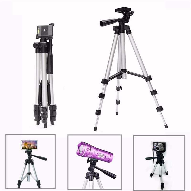 29-103 ซม.ขาตั้งกล้องแบบพกพาสำหรับโทรศัพท์มือถือกล้องผู้ถือคลิปโทรศัพท์มือถือสำหรับiPhone XS X 7 สมาร์ทโฟนสำหรับSamsung