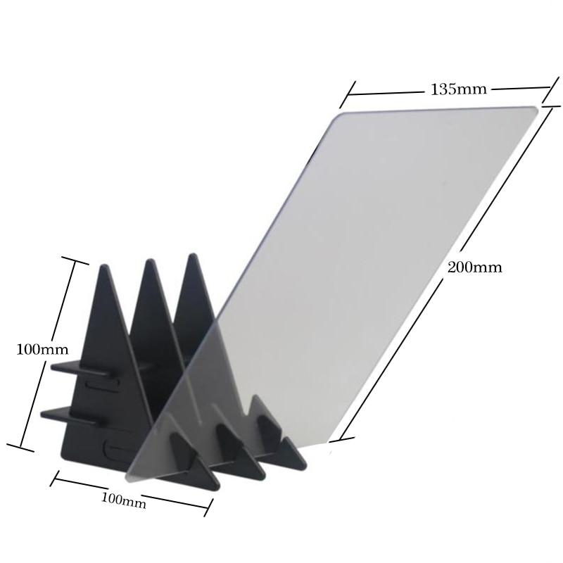Светодиодный оптический проекционный чертеж, эскиз, зеркальное отражение, затемнение, кронштейн, держатель, Линьи, живопись, зеркальная пластина, копировальный стол