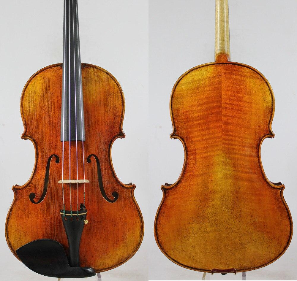 Wide Body! Italia Varnish Old Abete RARE TERTIS Modello Viola 15.5