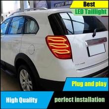 Car styling for Chevrolet Captiva 2008-2016 Dynamic turn signal LED Taillights Taillight Rear Lamp Driving+Brake+Reversing Light цена в Москве и Питере
