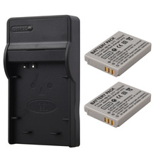 2×1200 mAh NB-5L NB5L Batterie De Secours Pour Canon SX200is SX210IS SX220HS SX230HS CB-2LXE PowerShot S100 S110 SD950 Caméra Batteria