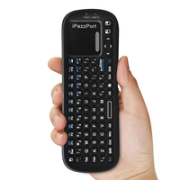 2 4G Wireless Keyboard 90 Degree Touchpad Mouse Flip Mini Multi Touch Portable Gaming Keyboard For