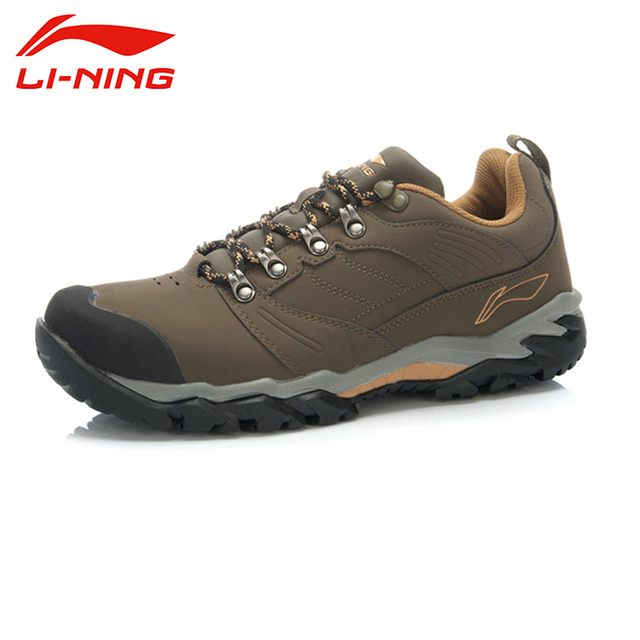 LI-NING Outdoor Skidproof Durable Breathable Height Increasing Climbing Sport Shoes Sneakers Walking Shoes Men AHTJ043 XYD063