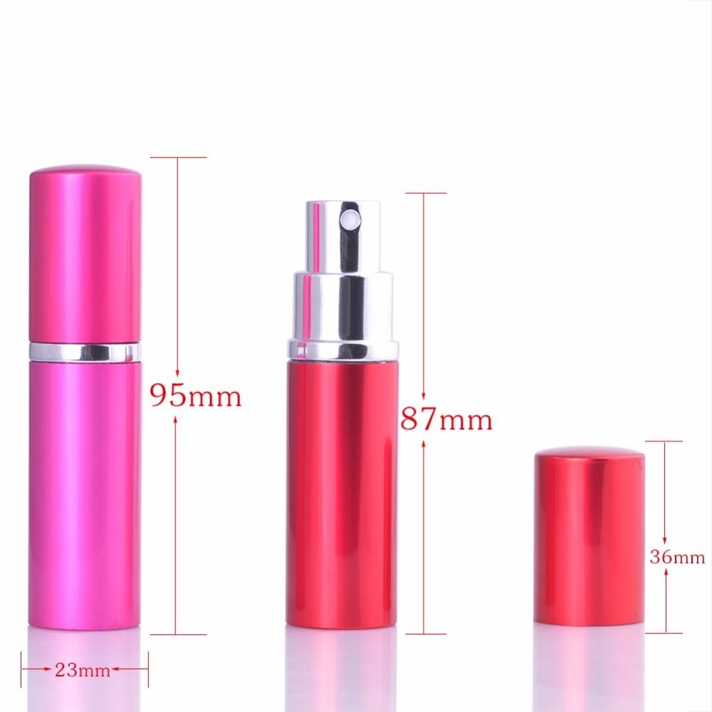 MUB - İsti Satış! 10 ml Alüminium Mini Parfümer Atomizer - Dəriyə qulluq alətləri - Fotoqrafiya 6