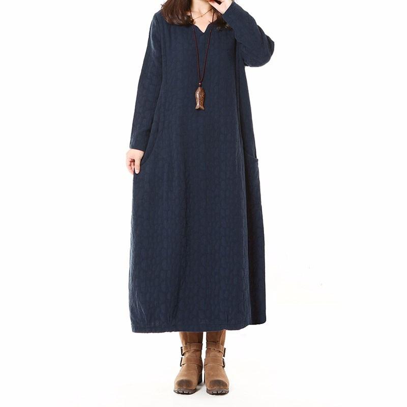 2018 Autumn Dress For Pregnant Women Long Sleeve V Neck Maternity Nursing Vestidos Vintage Pockets Pregnancy Clothes Dresses