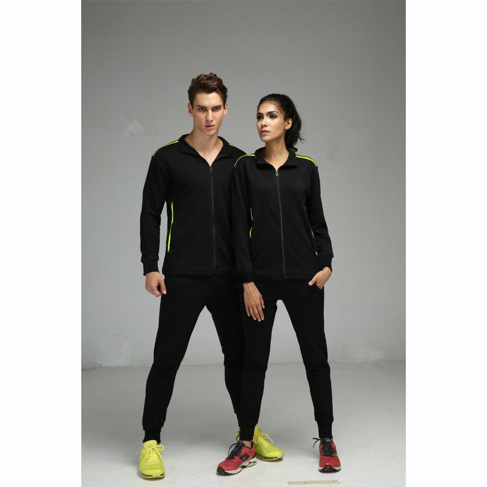 8e9a6dda29 Unisex hombres y mujeres ropa deportiva entrenamiento deportivo Sets hombre  mujer gimnasio ropa jogging traje Correr tracksuits jjs5012 en Conjuntos  para ...