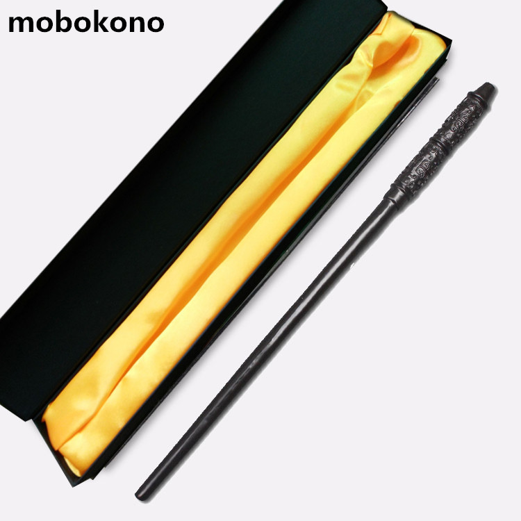 mobokono New Top Quality Severus Snape Magic Wand With Gift Box Cosplay Game Prop Collection Harry Potter Toy Stick
