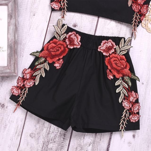 Conjunto de ropa de verano Top + Pantalones cortos