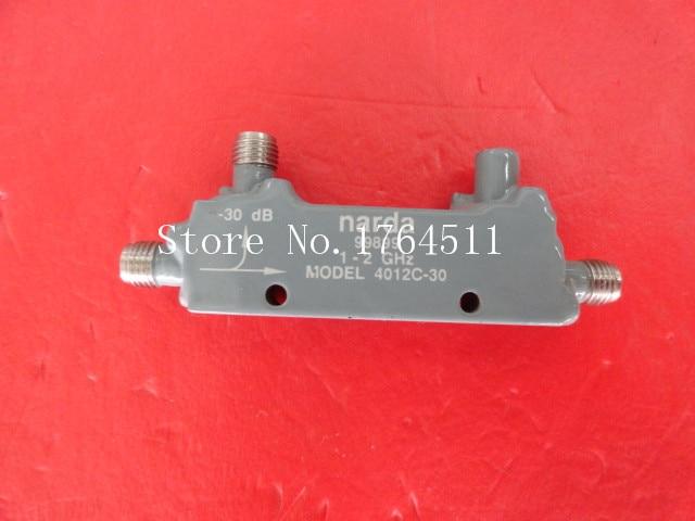 BELLA Narda 4012C 30 1 2GHz Coup 30dB SMA RF Microwave Directional Coupler