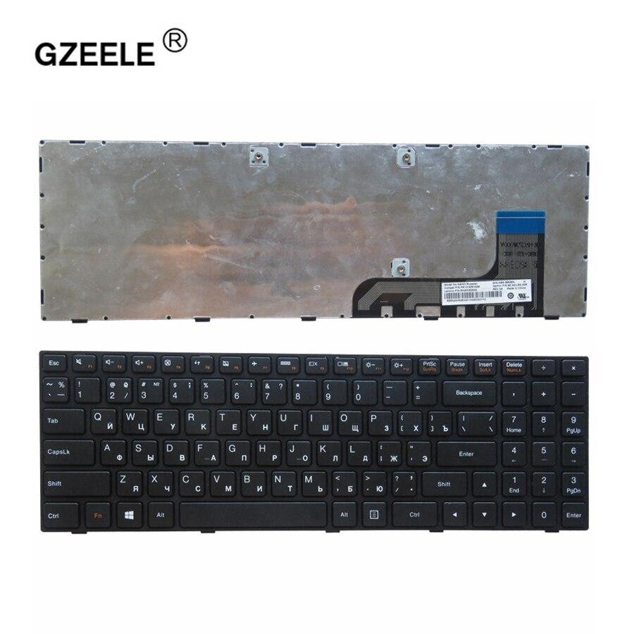 GZEELE Keyboard For Lenovo Ideapad 100-15 100-15IBY 100-15IB B50-10 PK131ER1A05 5N20h52634 9z.NCLSN.00R NANO NSK-BR0SN Black RU