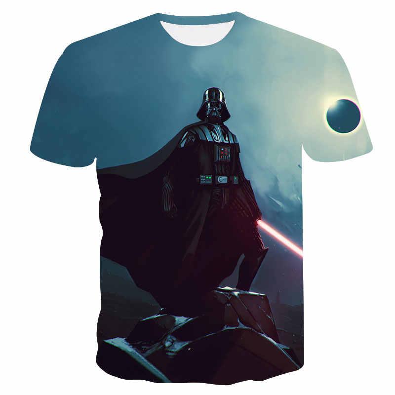 818842350 Brand T-shirt Fashion Mens 3d t-shirt Star Wars Darth Vader Printed Summer