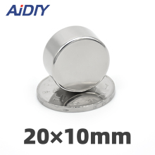 AI DIY 5/10/50Pcs 20 x 10mm N35 Super Strong Round Powerful Neodymium Office Rare Earth Magnets Disc *