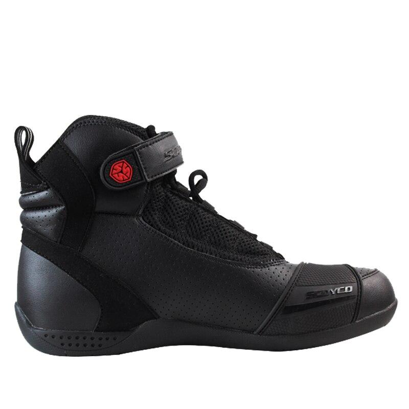 100% Original Scoyco Marke Mt016 Motorrad Schuhe Sport Casual Stiefel Männer Motorrad Racing Botas Motocross Radfahren Stiefel Schutzausrüstung Motorrad-zubehör & Teile