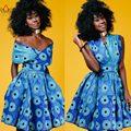 Vestidos de mulheres plus size moda bonito dress 6xl vestidos de festa longo mulheres vestuário tradicional africano dashiki brw wy1134