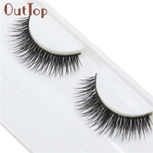 Здесь можно купить  maquiagem  Natural Beauty Dense A Pair False Eyelashes Do Dropshipping Q0407