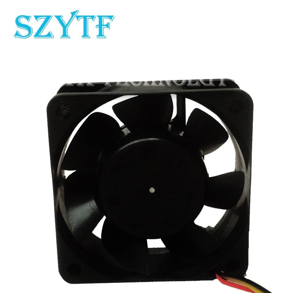 Free shipping MMF-06D24DM AC4 6025 60*60*25mm DC 24V 0.06A server inverter cooling fan