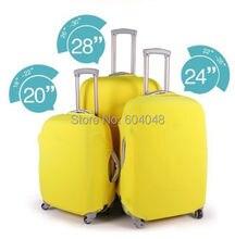 Freies Verschiffen 20/24/28 zoll Reisegepäck Koffer Schutzhülle/Elastische Fall staubdichte Abdeckung für koffer