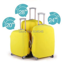 Free Shipping 20/24/28 inch Travel Luggage Suitcase Protective Cover /Elastic Case Dust-proof Cover for suitcase