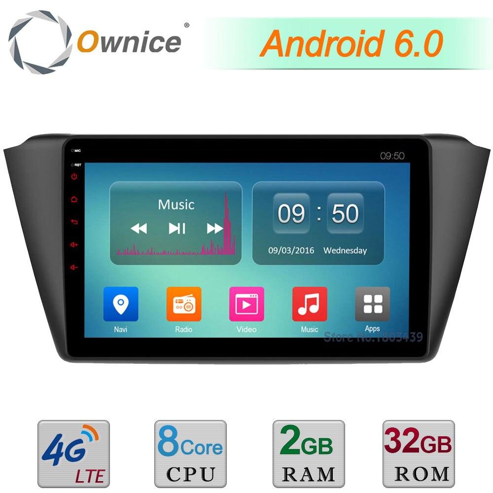 Octa Core 2GB RAM 32GB ROM C500 9 Android 6 0 4G LTE WIFI DAB Car