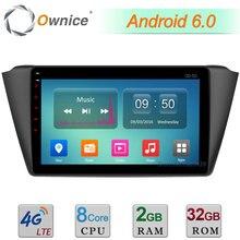 """C500 Octa Rdzeń 2 GB RAM 32 GB ROM + 9 """"Android 6.0 4G LTE WIFI DAB + Samochodowy Odtwarzacz DVD Radio Dla Skoda Fabia 2015 2016 Nawigacja GPS"""