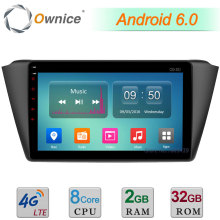 Octa Core 2GB RAM 32GB ROM C500+ 9″ Android 6.0 4G LTE WIFI DAB+ Car DVD Player Radio For Skoda Fabia 2015 2016 GPS Navigation