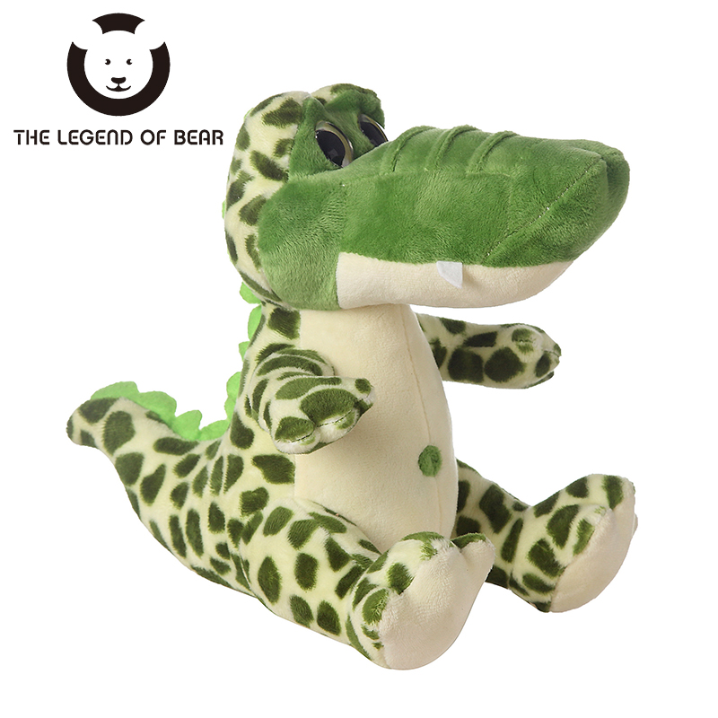 THE LENGEND OF BEAR Brand High Quality 3 Size Kawaii Toys Plush Stuffed Animals Toy For Girls Crocodile Spiners Dolls TY Kids