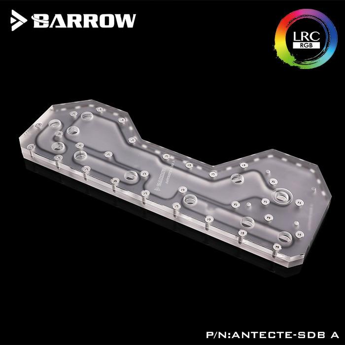 Barrow ANTECTE-SDB, Waterway Boards For Antec Torque Case, For Intel CPU Water Block & Single/Double GPU Building