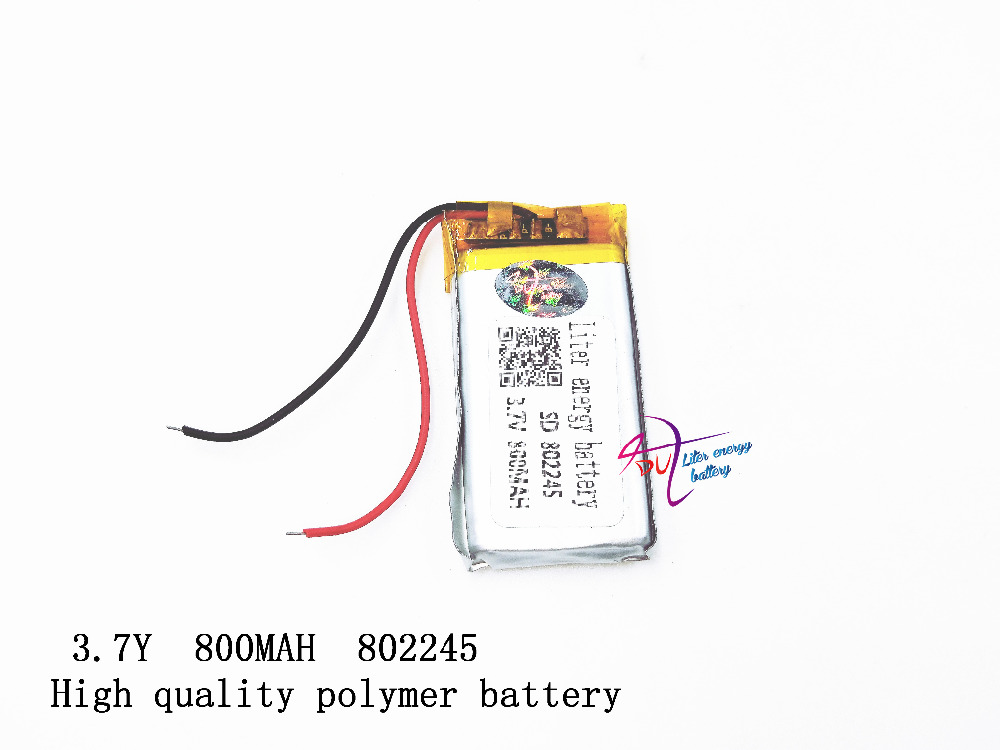 3.7V polymer lithium battery 802245 wireless phone MP3 navigator 800mAh genuine MP4 point pen картридж brother btd60bk для brother dcp t310 t510w t710w черный 6500стр