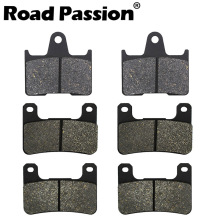 Road Passion Motorcycle Front & Rear Brake Pads For SUZUKI GSXR600 GSXR750 GSXR 600 750 2004-2005 GSXR1000 1000 2004-2006 2pcs front floating brake disc rotor for suzuki gsxr600 gsxr750 2008 2009 2010 2011 2012 2013 2014 gsxr1000 gsxr 600 750 1000