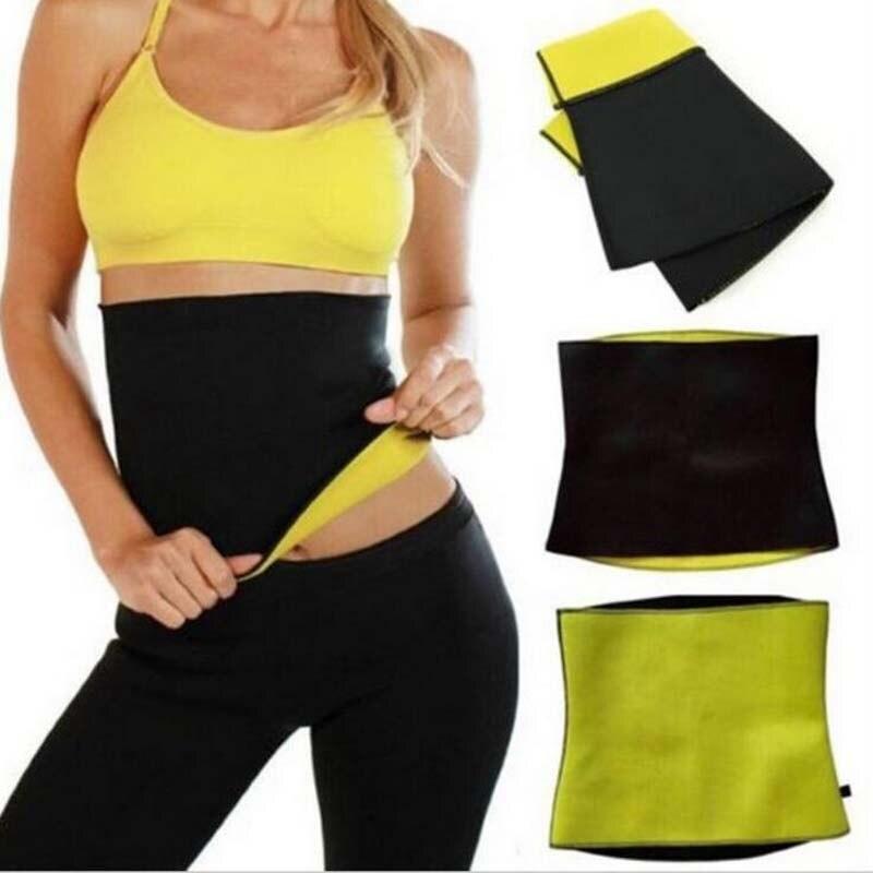 Fitness Women Slimming Waist Belts Neoprene Body Shaper Training Corsets Cincher Trainer Promote Sweat Bodysuit