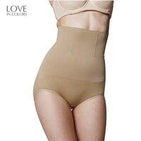 Loveincolors Seamless Women High Waist Slimming Belly Brief Staylace Underwear Magic Body Pregnant Women
