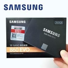 SAMSUNG PC 250 ГБ 500 1 ТБ 860 EVO SSD SATAIII 860EVO 250G 500G 1 ТБ настольных SATA3 2,5 SSD Внутренние твердотельные накопители