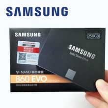 SAMSUNG PC 250GB 500GB 1 to 860 EVO SSD SATAIII 860EVO 250G 500G ordinateur de bureau SATA3 2.5 SSD disques SSD internes