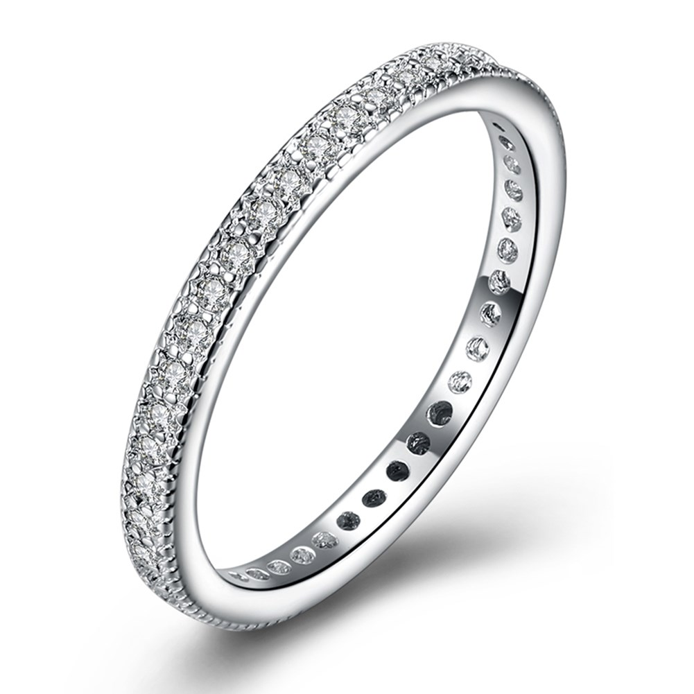 The Black Friday Cool Replica Jewelry Love Silver Color Engagement Finger Ring Gifts For Women Cheap Price Wholesale Turkish