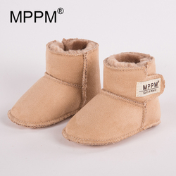 MPPM Winter Baby Boots Infant First Walker Soft Sole GirlsBaby Booties Boy Baby shoes first walkers