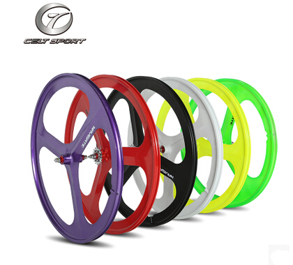 Fixed Gear Bike lightweight magnesium alloy wheels died flywheel group Mito Mito one wheel