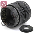 16mm C mount Lens 35mm f1.7 + C to NEX /Fuji / Micro M4/3 /  N1 / ef M M2 / Pentax Q Adapter Ring For DSLR Camera + Lens Cap