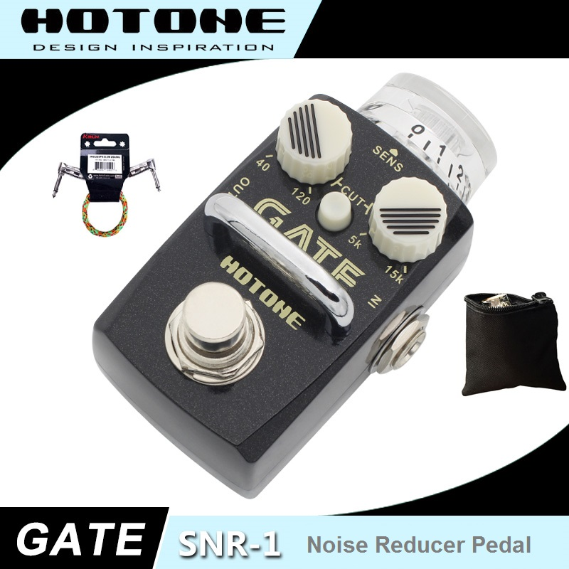 Hotone GATE Noise Reduction Pedal with Free Pedal Case and More papr reduction
