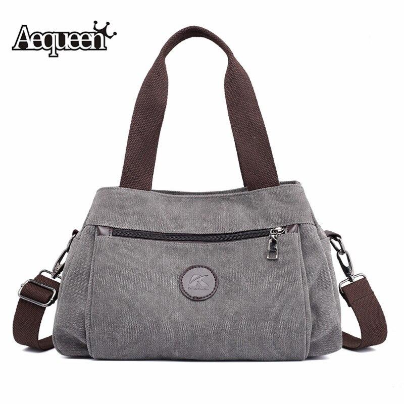 Canvas Bag Vintage Shoulder Bag Handbags Ladies Hand Bag Tote Bolsos Mujer Hobos Bolsas Feminina