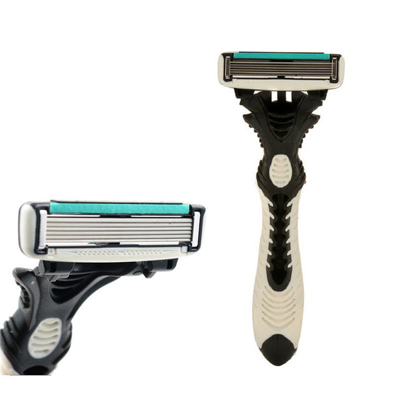Original Men's Razor Blade 6 Layer Shaver Travel Manual Shaving Razors Machine with Original Handle Safety Razor 1