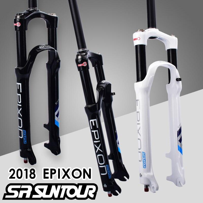 2018 SUNTOUR EPIXON Mtb Fork Bike Air Suspension Fork 29 Remote Control Lock Bicycle Fork 26 / 27.5 Bike Fork Bike Parts