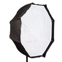 Софтбокс для фотостудии 80 см/32 дюйма, восьмиугольный зонт, светильник, подставка, зонт, комплект кронштейна для горячего башмака, отражатель...
