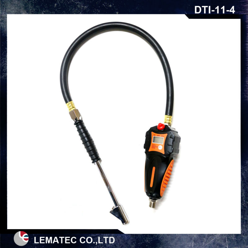 LEMATEC Iron men Digital tire inflator with digital air pressure gauge for inflation tyre inflating gun tire repair tools lematec heavy duty car dual head tire inflator pressure gauge air chuck profession tyre air inflator gun air tools